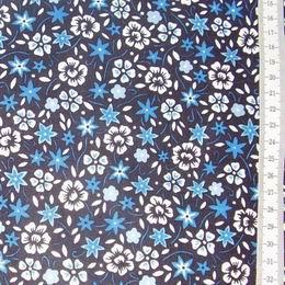 Diana - modrob�l� kyti�ky na tmav� modr�