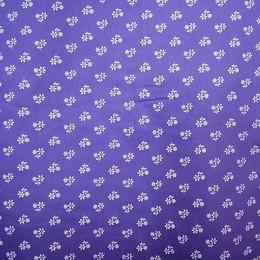 Sat�n - b�l� kv�tka na fialov�