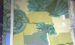 Viskoza - zelen� ornamenty  - zv�t�it obr�zek