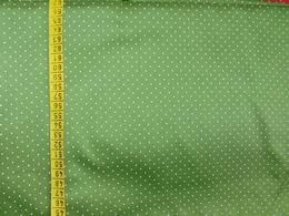 sat�n - st�edn� zelen� s jemn�m b�l�m punt�kem - zv�t�it obr�zek