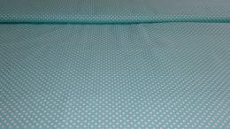 Bavln�n� tisk - azurov� punt�k
