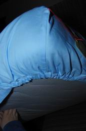 prostìradlo modré z kvalitníèeské bavlny