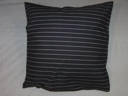bavlnìný tisk - èerný pruh s malým bílým - zvìtšit obrázek