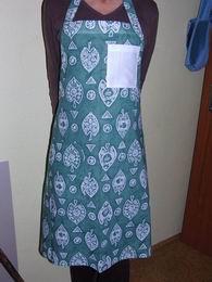 Zástìra dámská - zelená