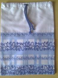 pytlík saténový - svìtle modrý