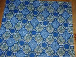 Šátek modrozelený