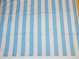 Šátek - sv.modrobílé široké  pruhy