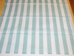 šátek - zelenošedé pruhy na bílé - zvìtšit obrázek