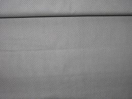 Bavlnìný tisk - puntíèky šedá