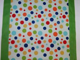 Ubrus pruh - barevné puntíky 140 x 50
