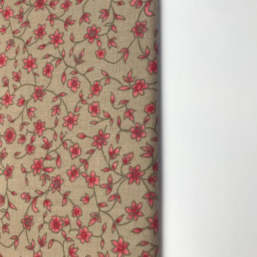 Zuzanka- èervené kytièky na béžové