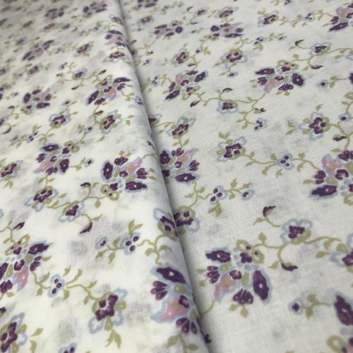 Grasi- fialový kvìt na bílé