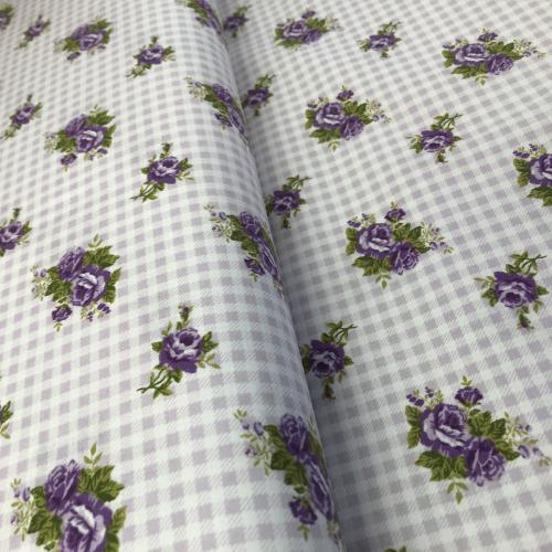 Diana- fialová kostièka s rùžièkami