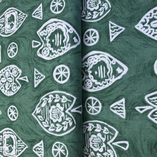 Grasi- listy-kola zelenošedé