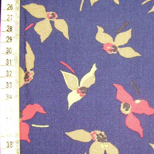 Viskoza- orchideje na modré - zvìtšit obrázek