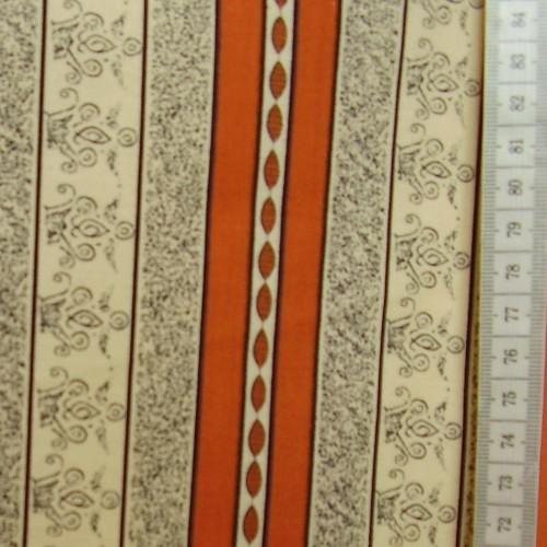 Ema -  zlaté pruhy s oranžovou - zvìtšit obrázek