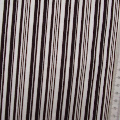 Bavlna  bíloèerné pruhy - zvìtšit obrázek