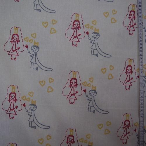 Diana - princezna a princ na svìtlonce žluté - zvìtšit obrázek