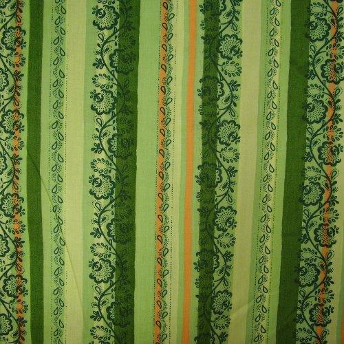 Aruna - tmavì zelený lidový v pruzích - zvìtšit obrázek