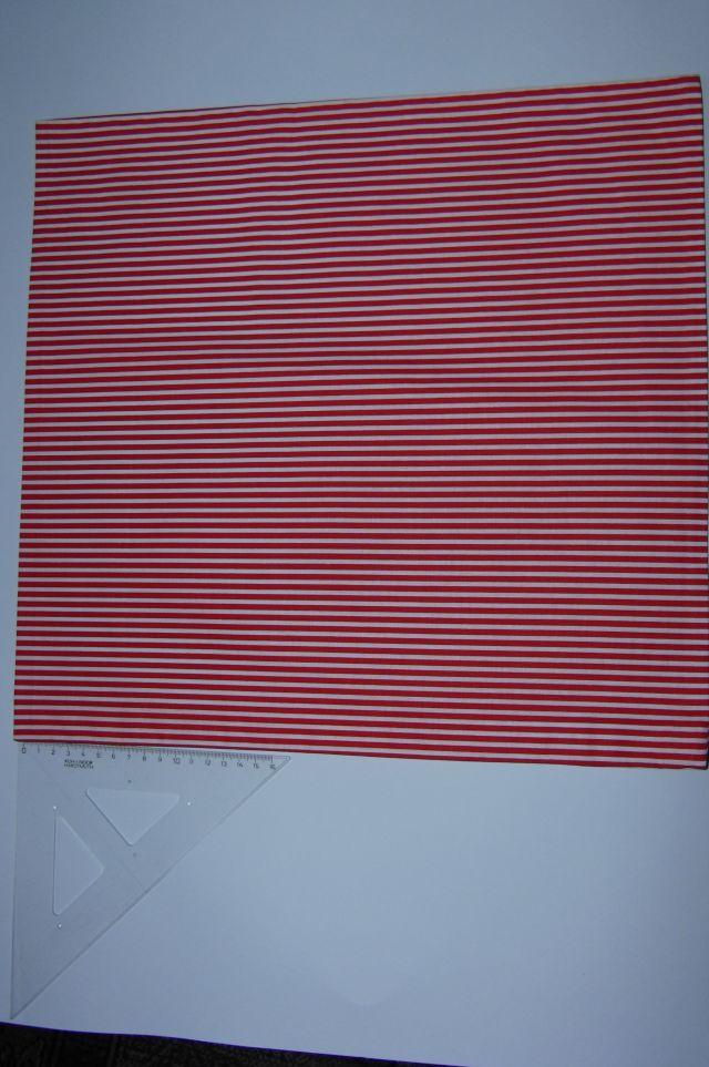 plátno - bíloèervené pruhy - zvìtšit obrázek