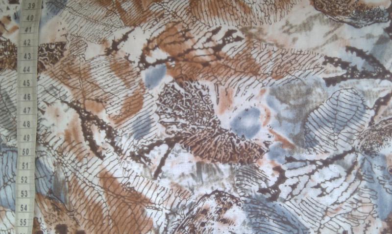 Viskoza - podzimní motiv - zvìtšit obrázek