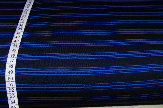 Úplet modroèerný pruhovaný - zvìtšit obrázek