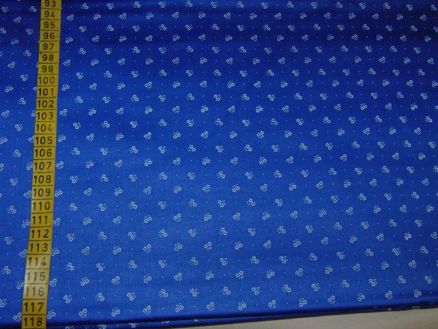 satén - kytièky na svìtlejší modré - zvìtšit obrázek