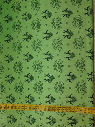 satén - srdíèka na svìtle zelené - zvìtšit obrázek