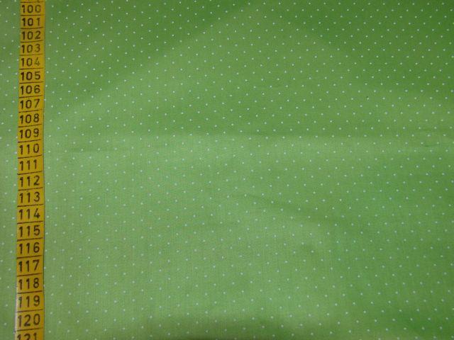 satén - puntík na svìtle zelené - zvìtšit obrázek