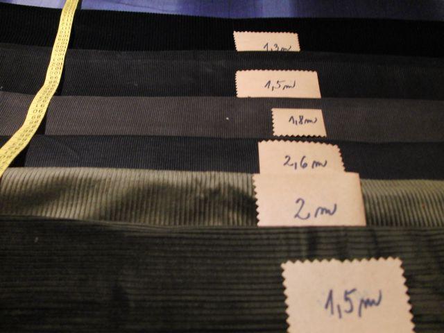 Kord - užší žebrování - tmavší šedá - zvìtšit obrázek