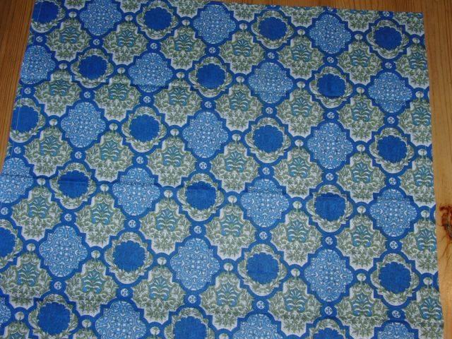 Šátek modrozelený - zvìtšit obrázek