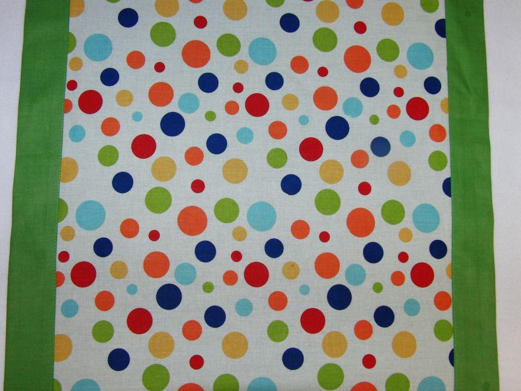 Ubrus pruh - barevné puntíky 140 x 50 - zvìtšit obrázek
