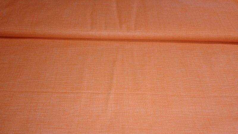 Bavln�n� tisk - oran�ov� hust� s� - zv�t�it obr�zek