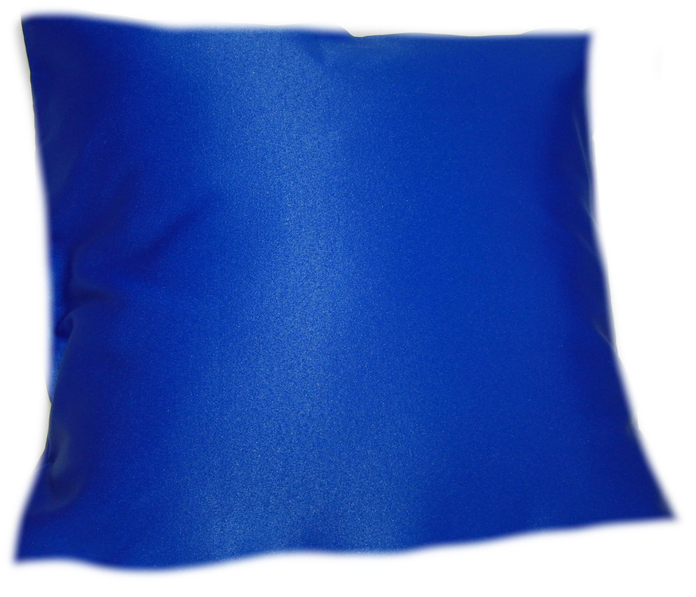 povlak na polštáøek - modrý - zvìtšit obrázek