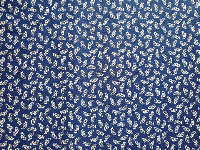 Drobný modro-tiskový vzor - zvìtšit obrázek