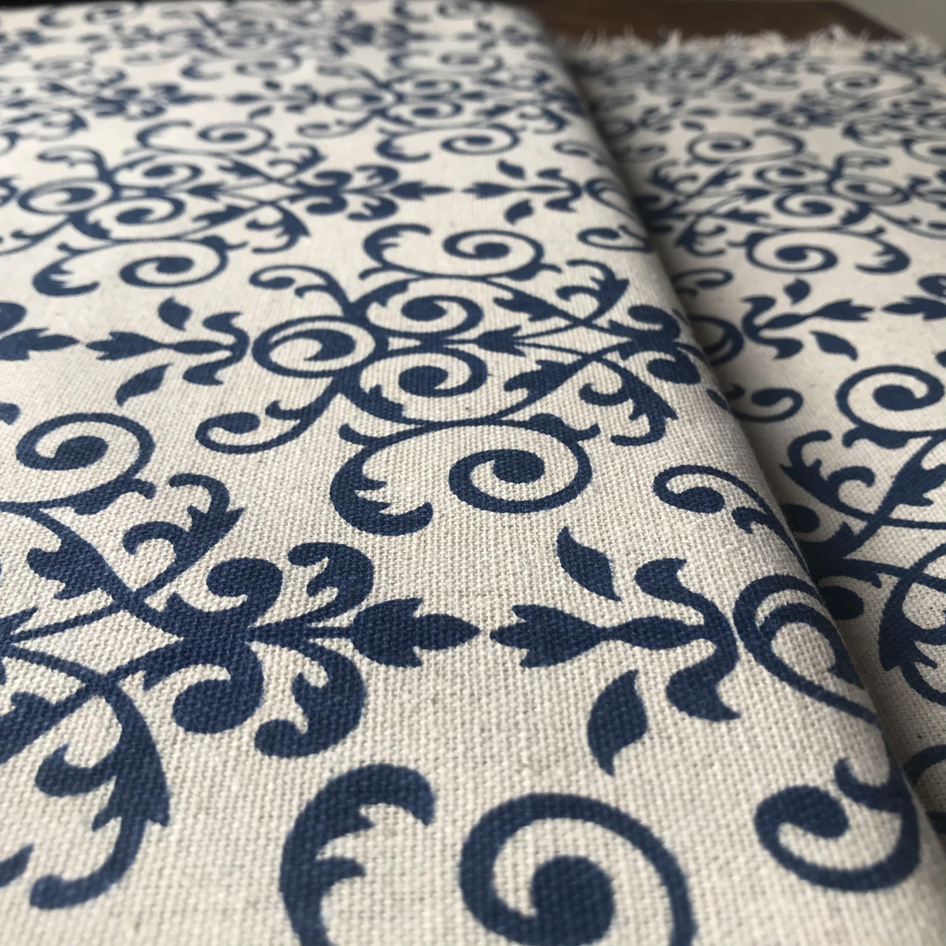 Modré vzory - zvìtšit obrázek