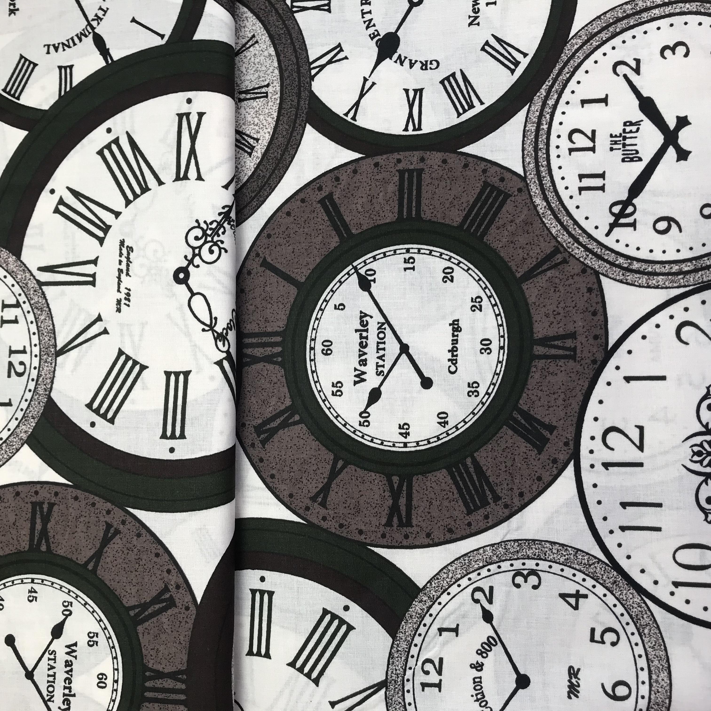 Bavlnìný tisk- hodiny - zvìtšit obrázek