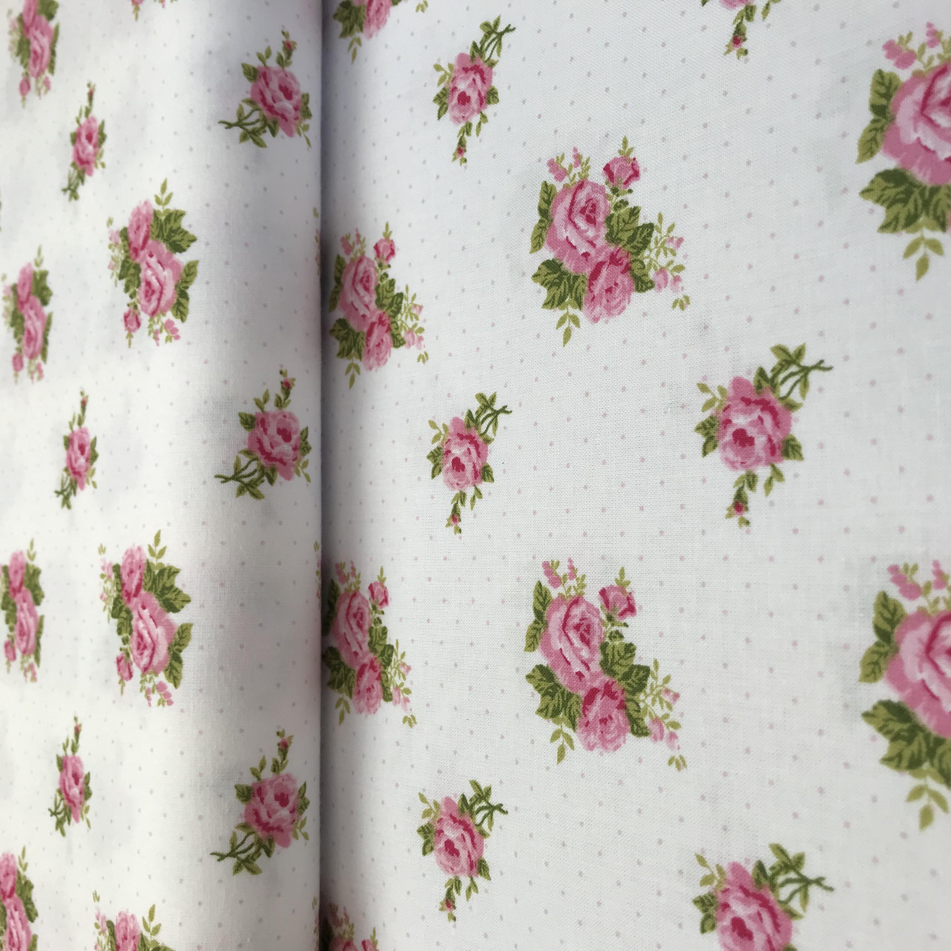 Diana- rùžové rùžièky s rùžovým puntíèkem - zvìtšit obrázek